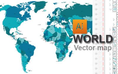 Vector World map