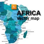 Free Africa Vector Map