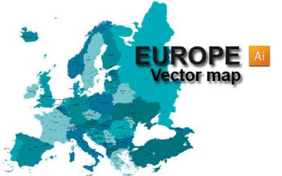 Free Europe Vector Map